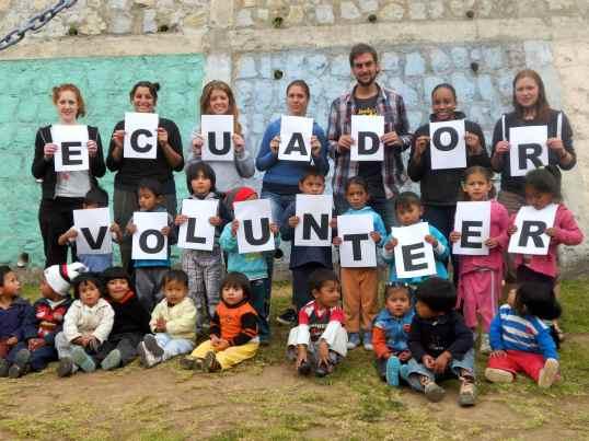 ecuador volunteer