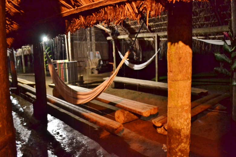 Tsachila night bua rain