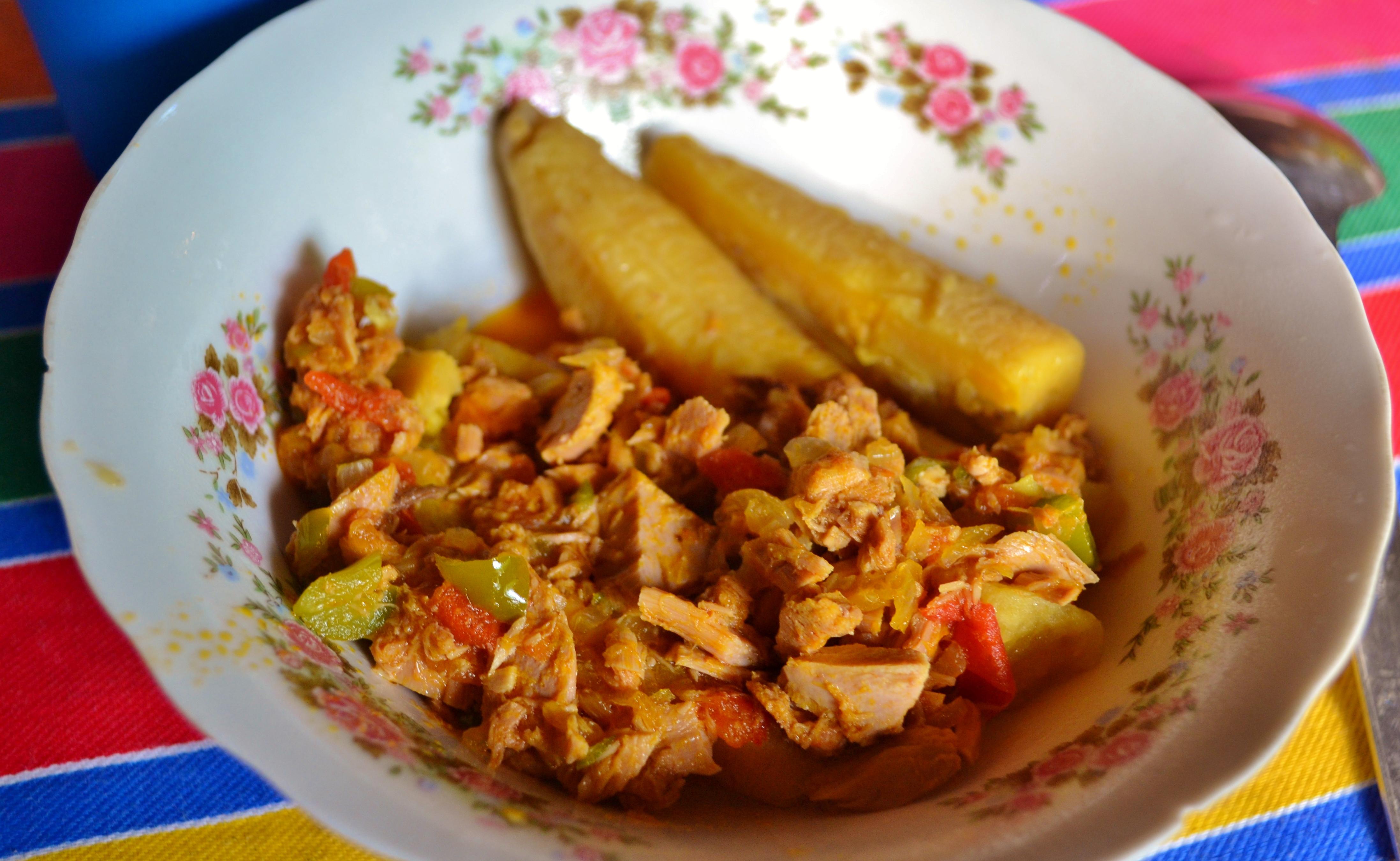 Tsachila desayuno breakfast