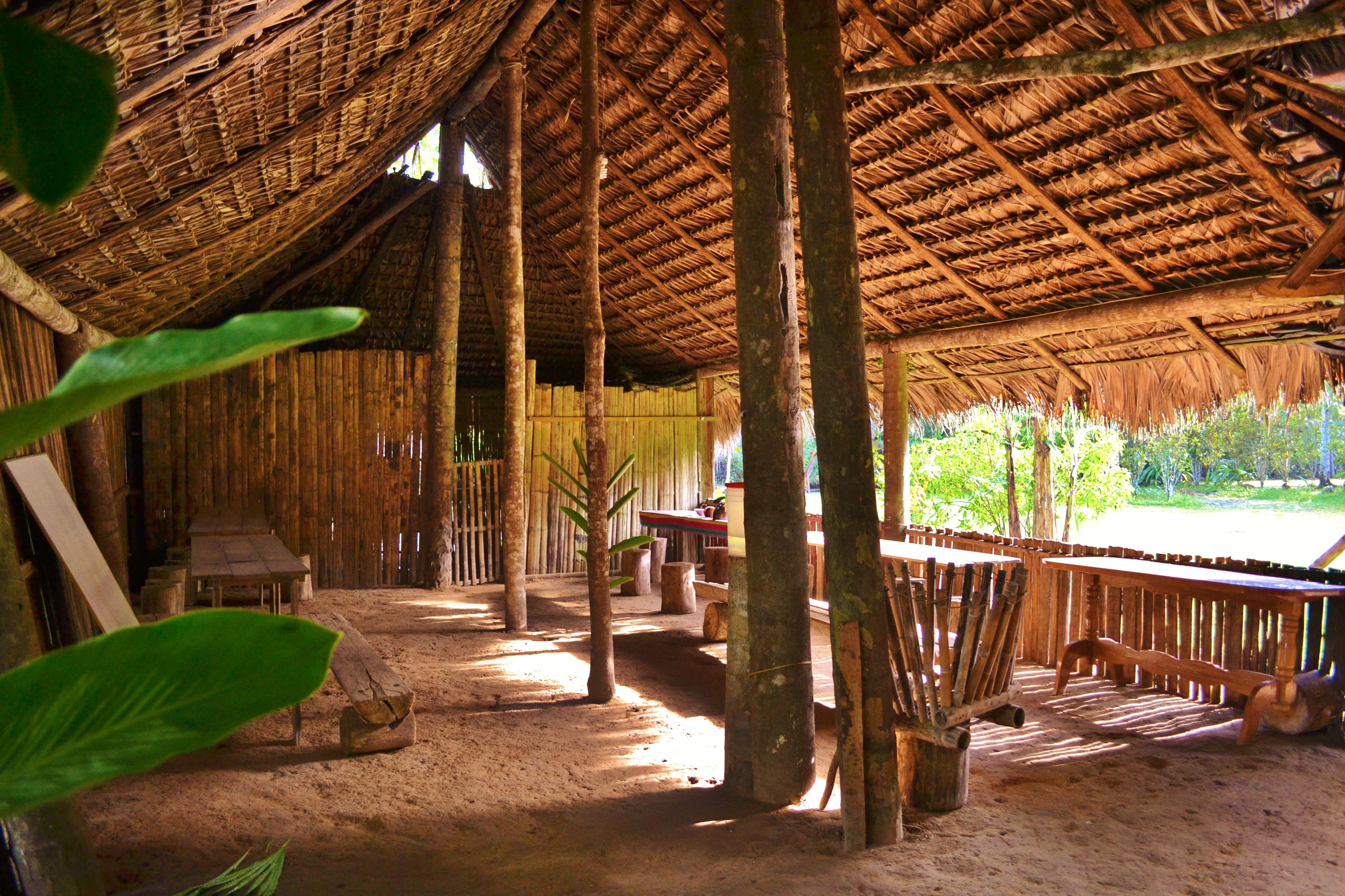 Tsachila Dining area