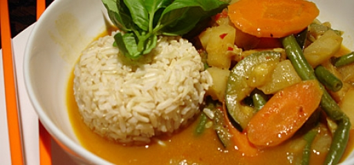 cocos curry rice prawns