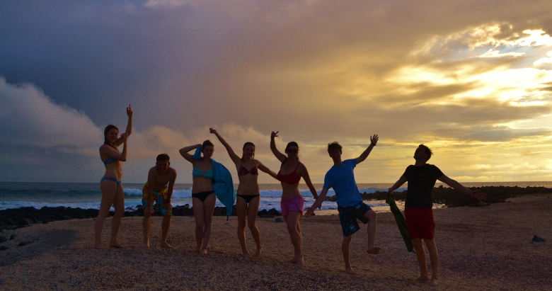 Islas de Galapagos sunset