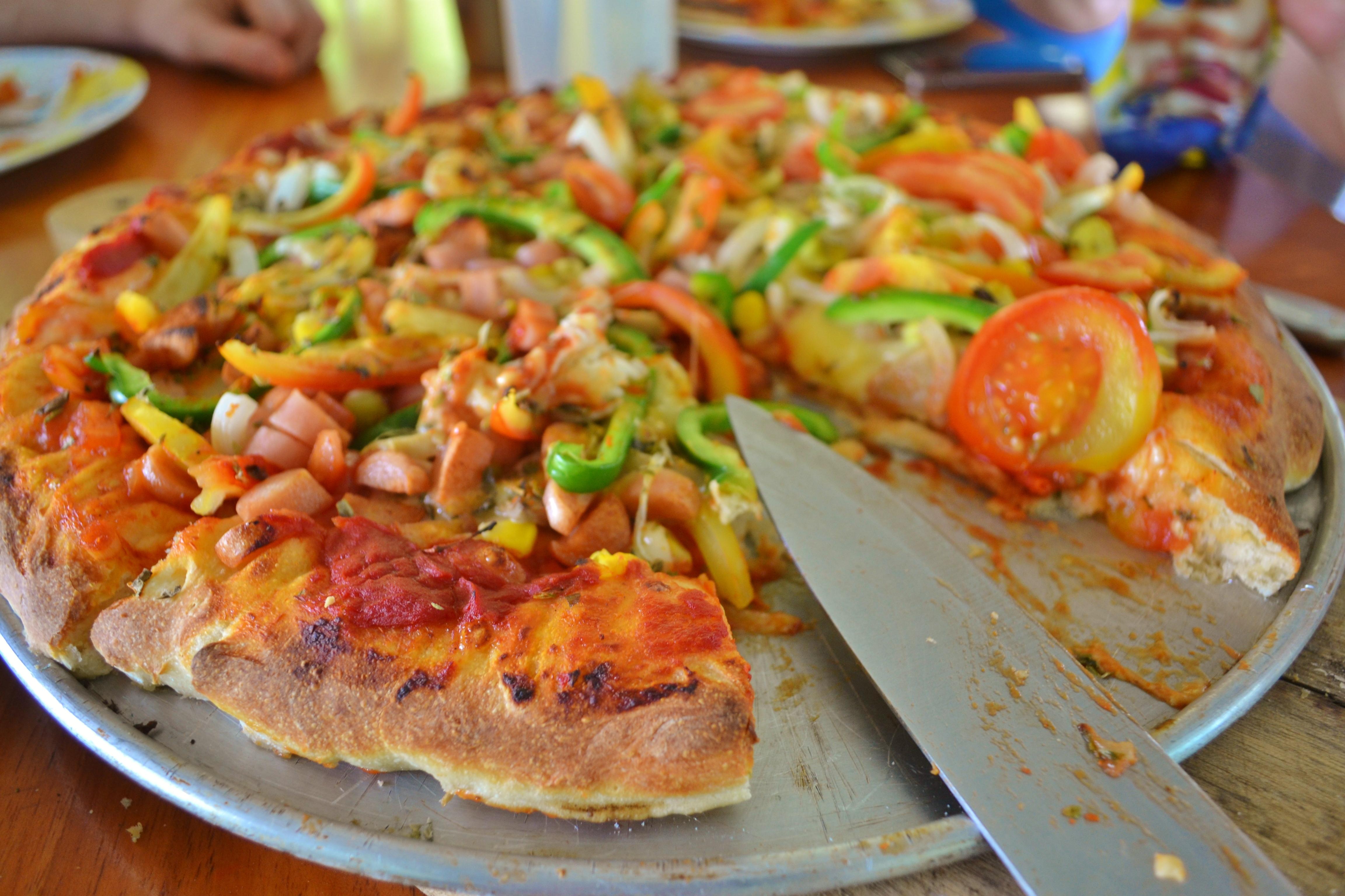 Islas de Galapagos pizza result