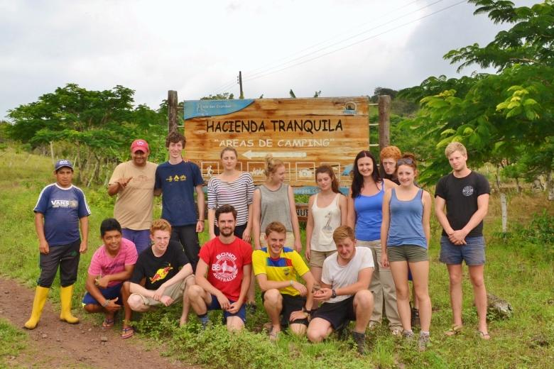 Islas de Galapagos Hacienda Tranquila the leap