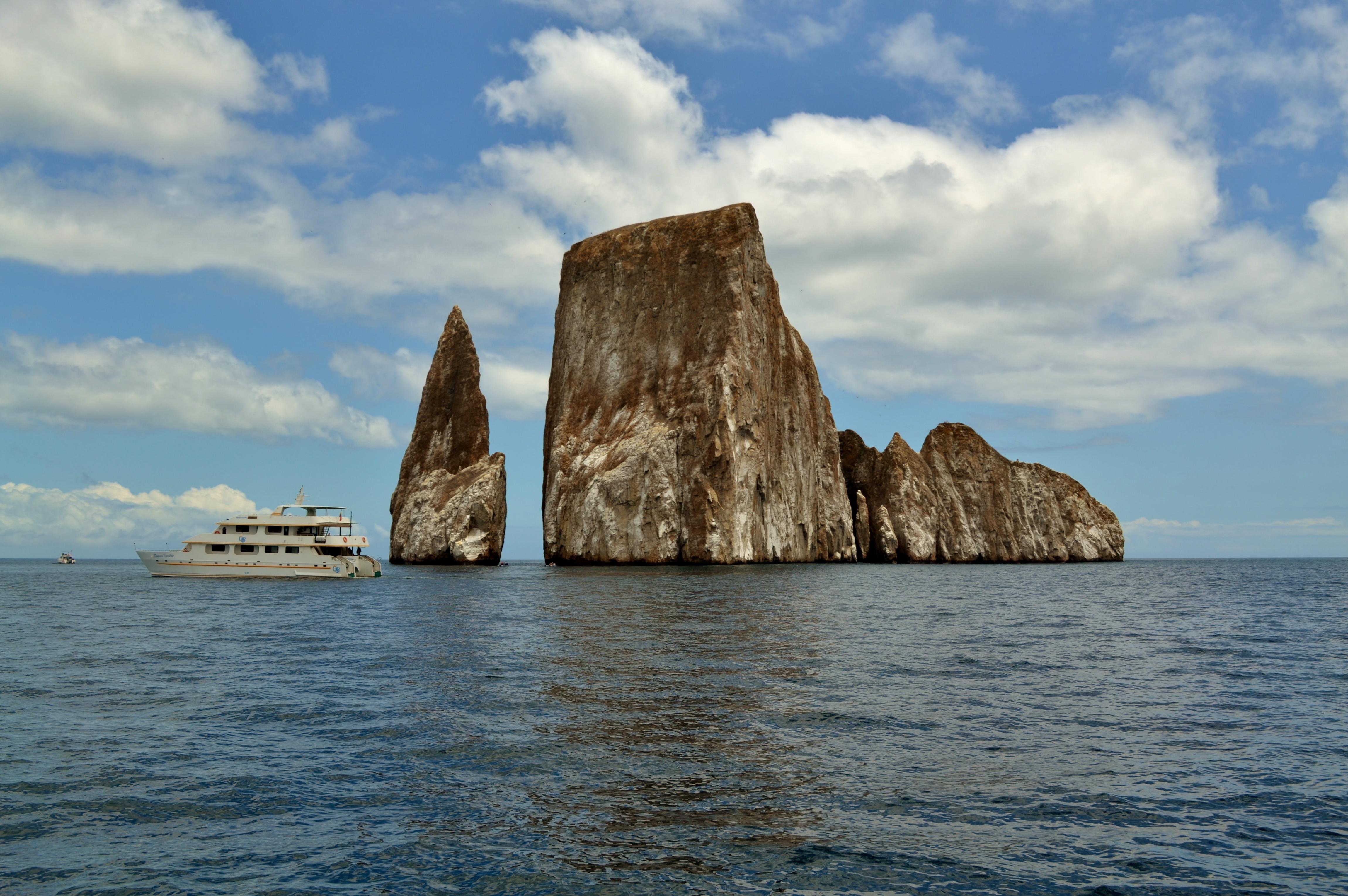 Islas de Galapagos leon dormido kicker rock
