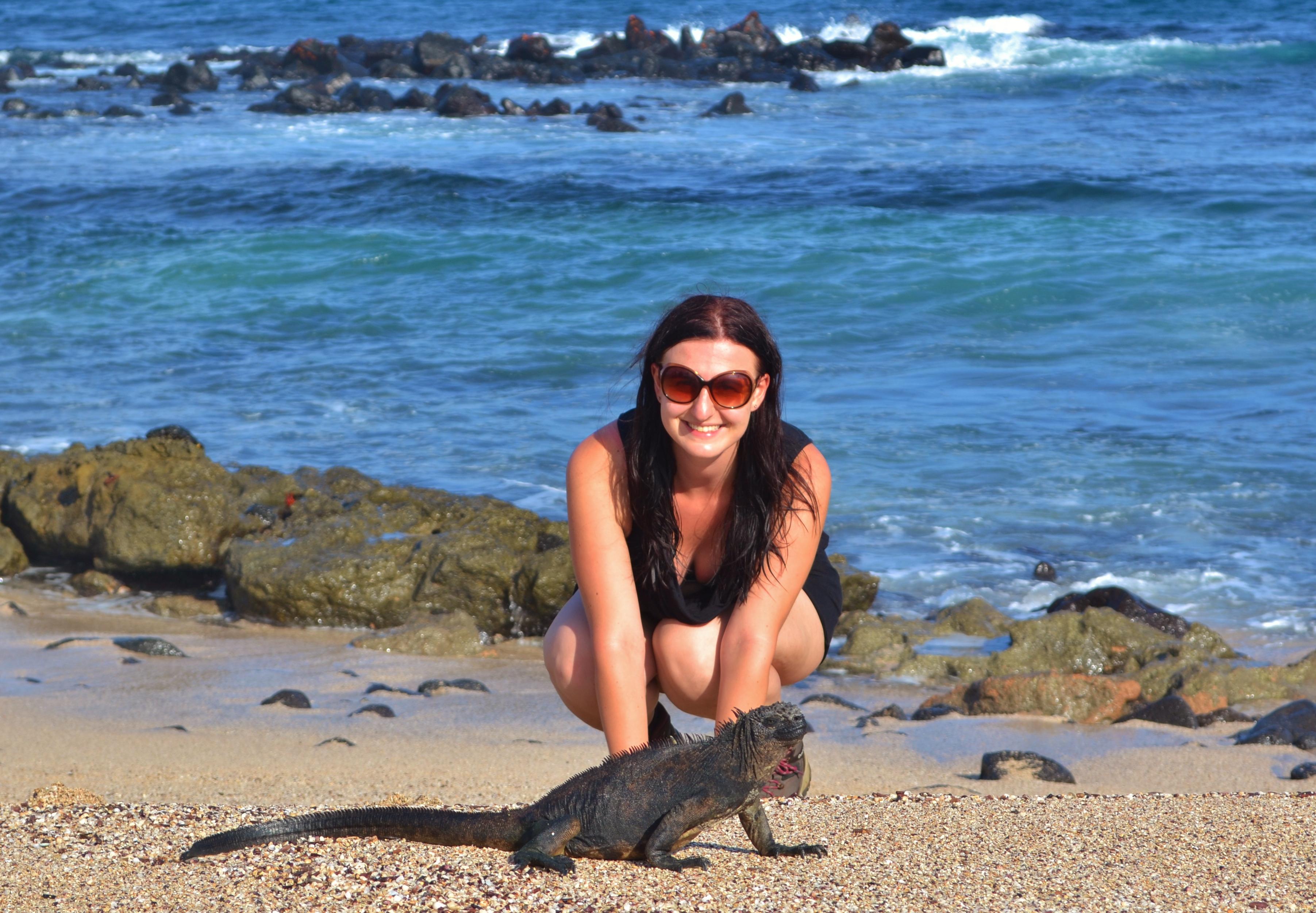 Islas de Galapagos Santa Cruz playa de los perros
