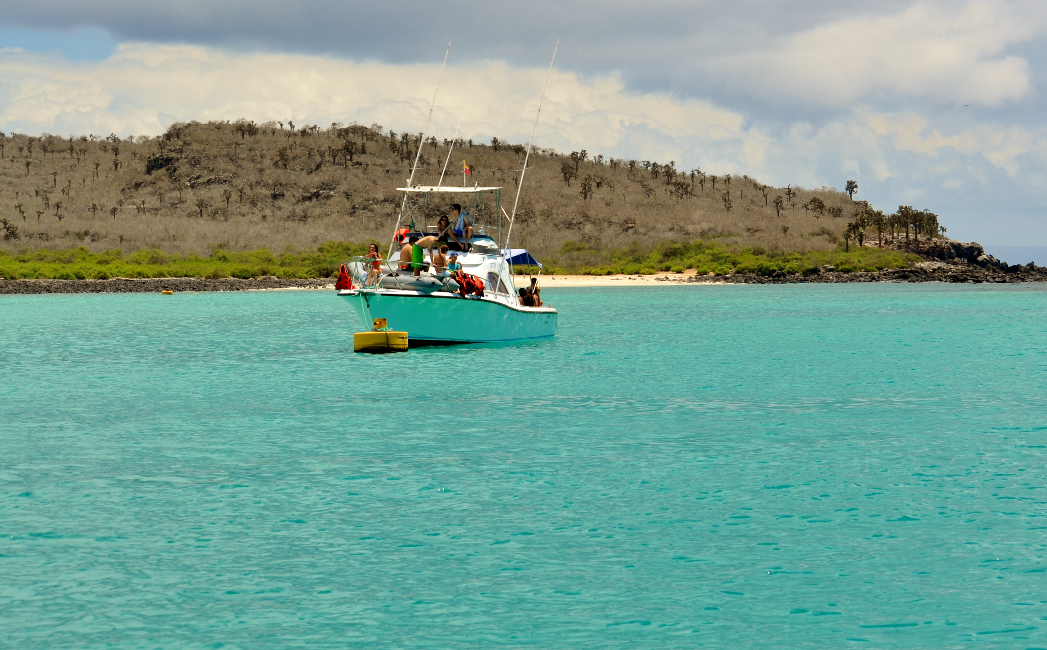 Islas de Galapagos santa fe