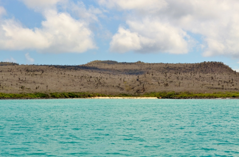 Islas de Galapagos playa escondida