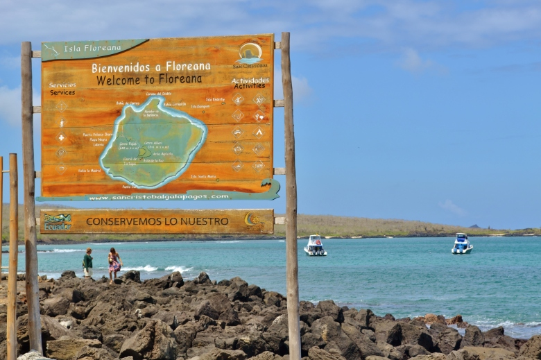 Islas de Galapagos Welcome to Floreana