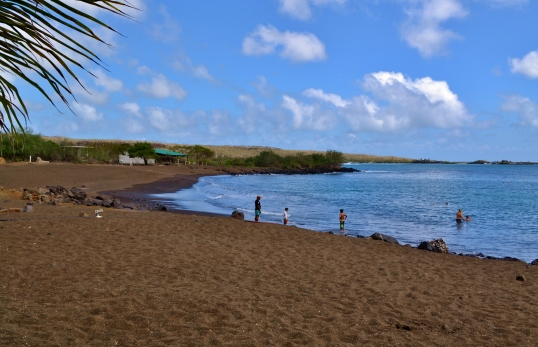 Islas de Galapagos floreana playa negra