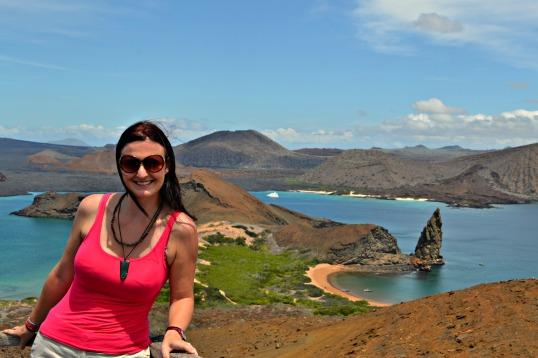 Islas de Galapagos isla bartolomé