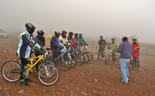 Adventure Week Chimborazo Cycling