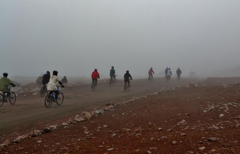 Adventure Week Downhill Ride
