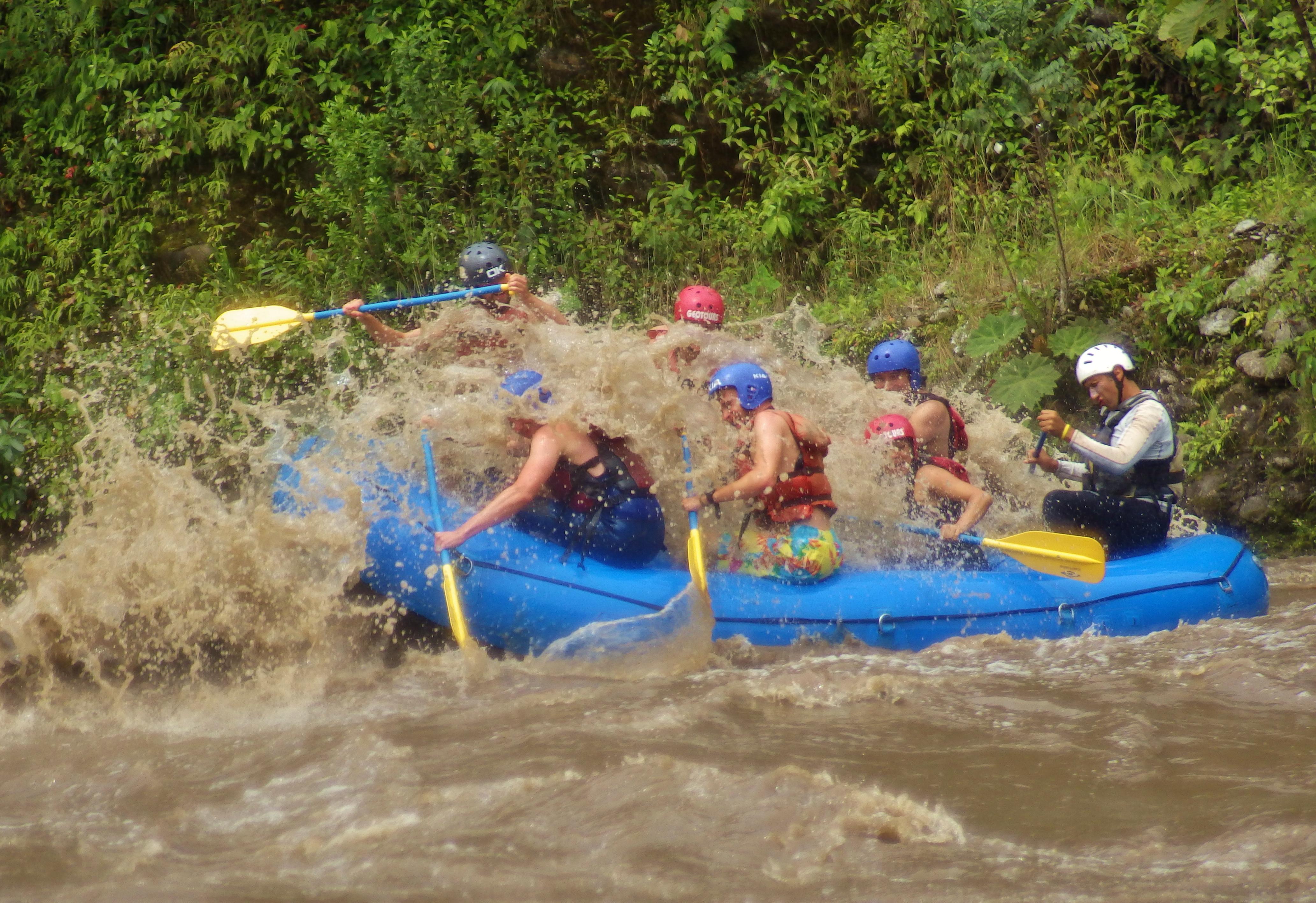 rafting pastaza river