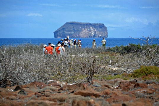 Islas de Galapagos Walk way tail
