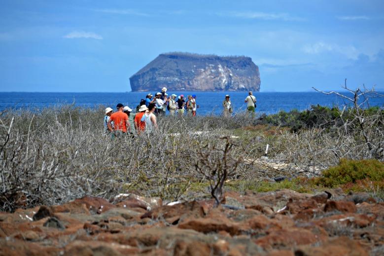 Islas de Galapagos Walk way tail