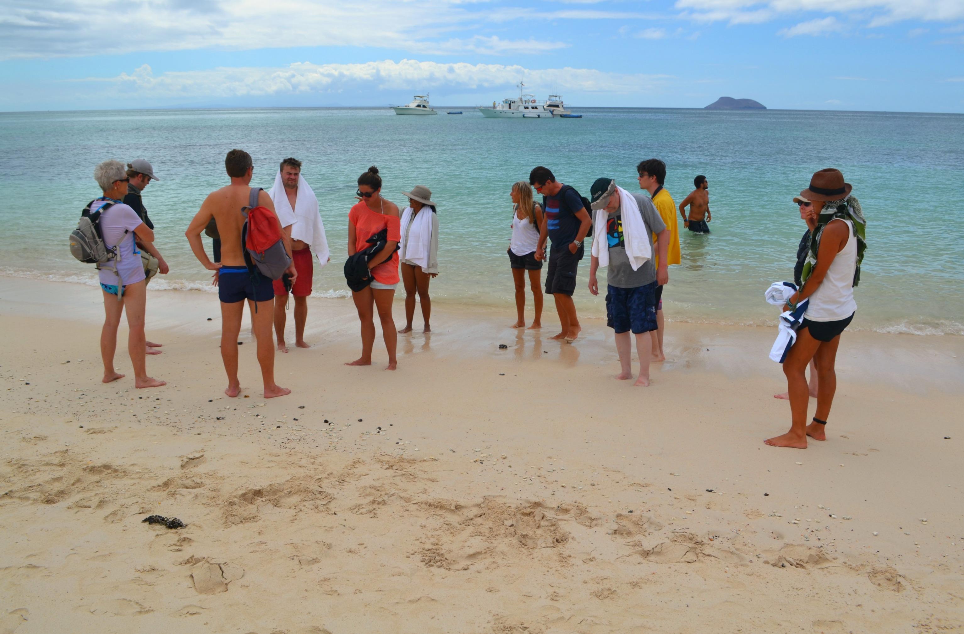 Islas de Galapagos las bachas playa