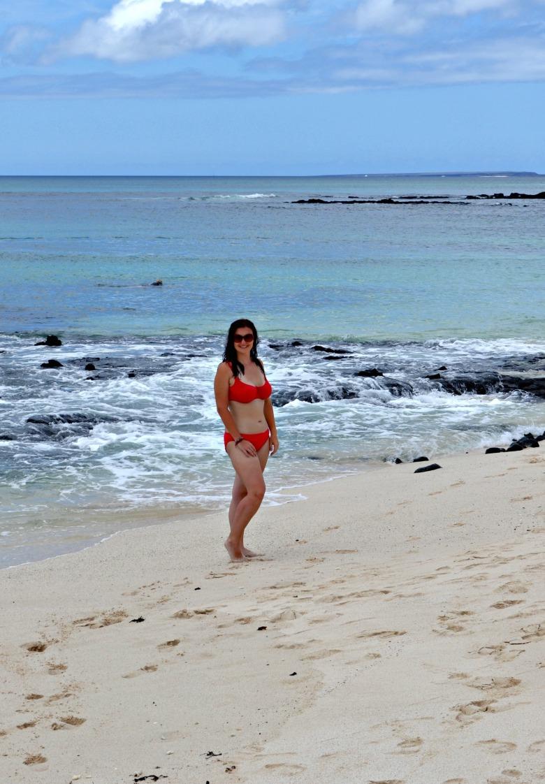 Islas de Galapagos playa las bachas