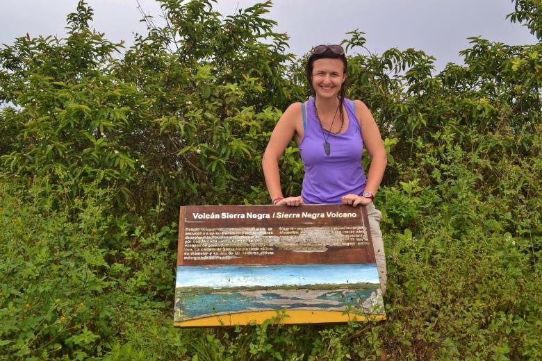 Islas de Galapagos sierra negra isabela