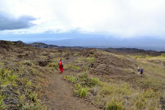 Islas de Galapagos volcan chico
