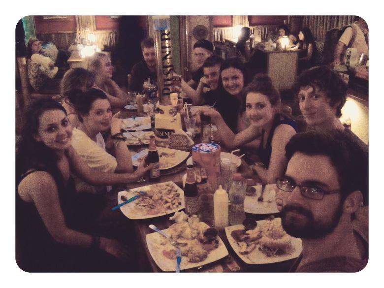montanita last dinner