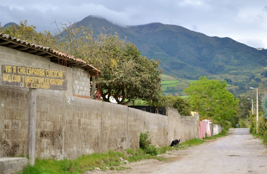 The Andes Chilcapamba Welcome