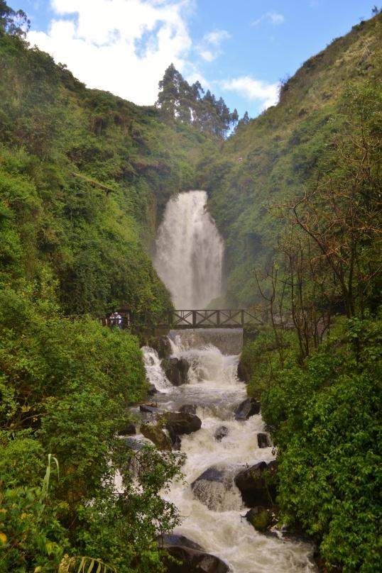 The Andes Cascadas de Peguche
