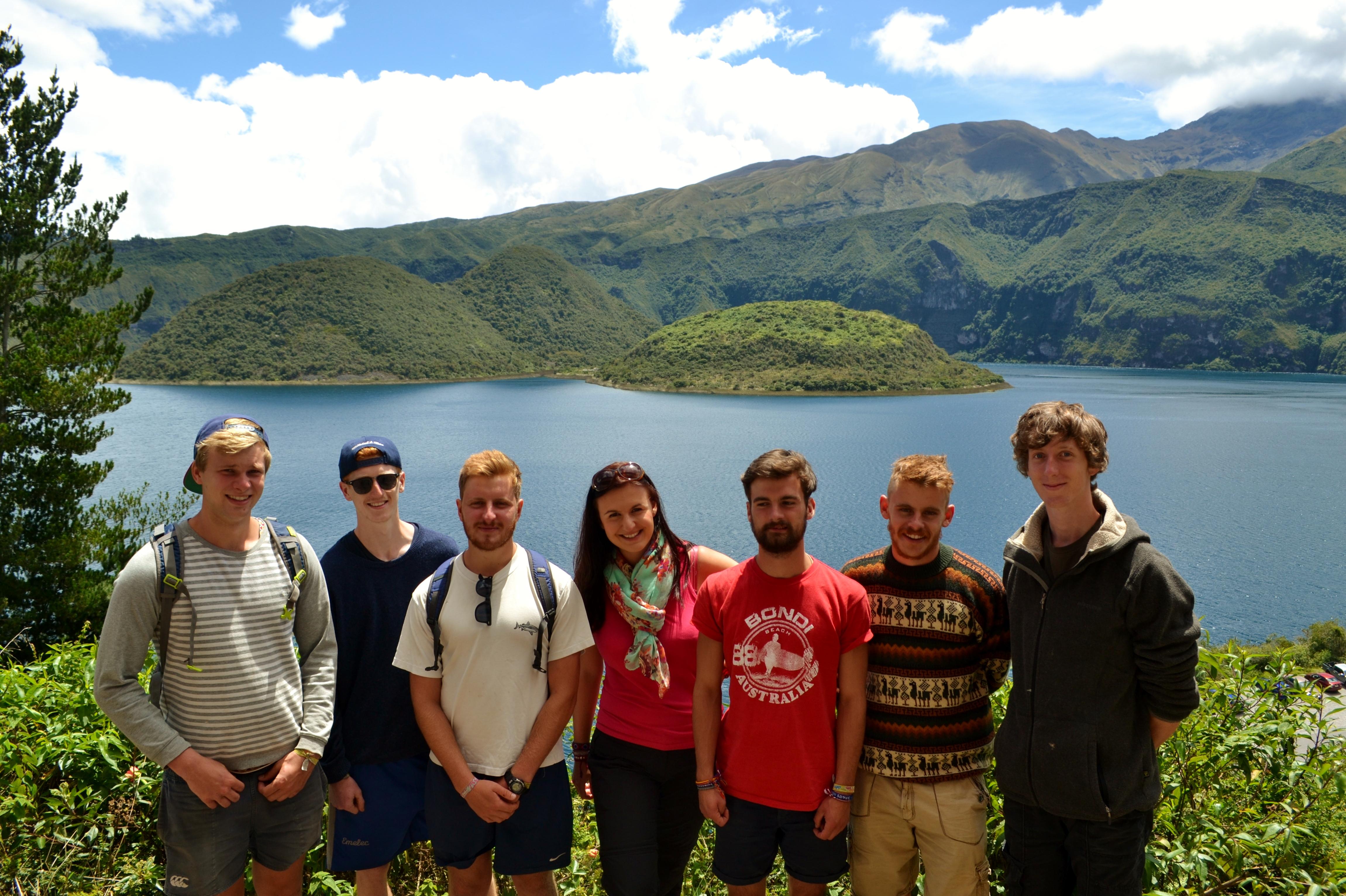 The Andes Laguna de Cuicocha