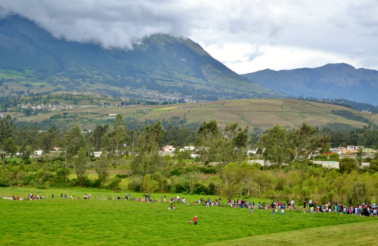 The Andes Horse races Quiroga