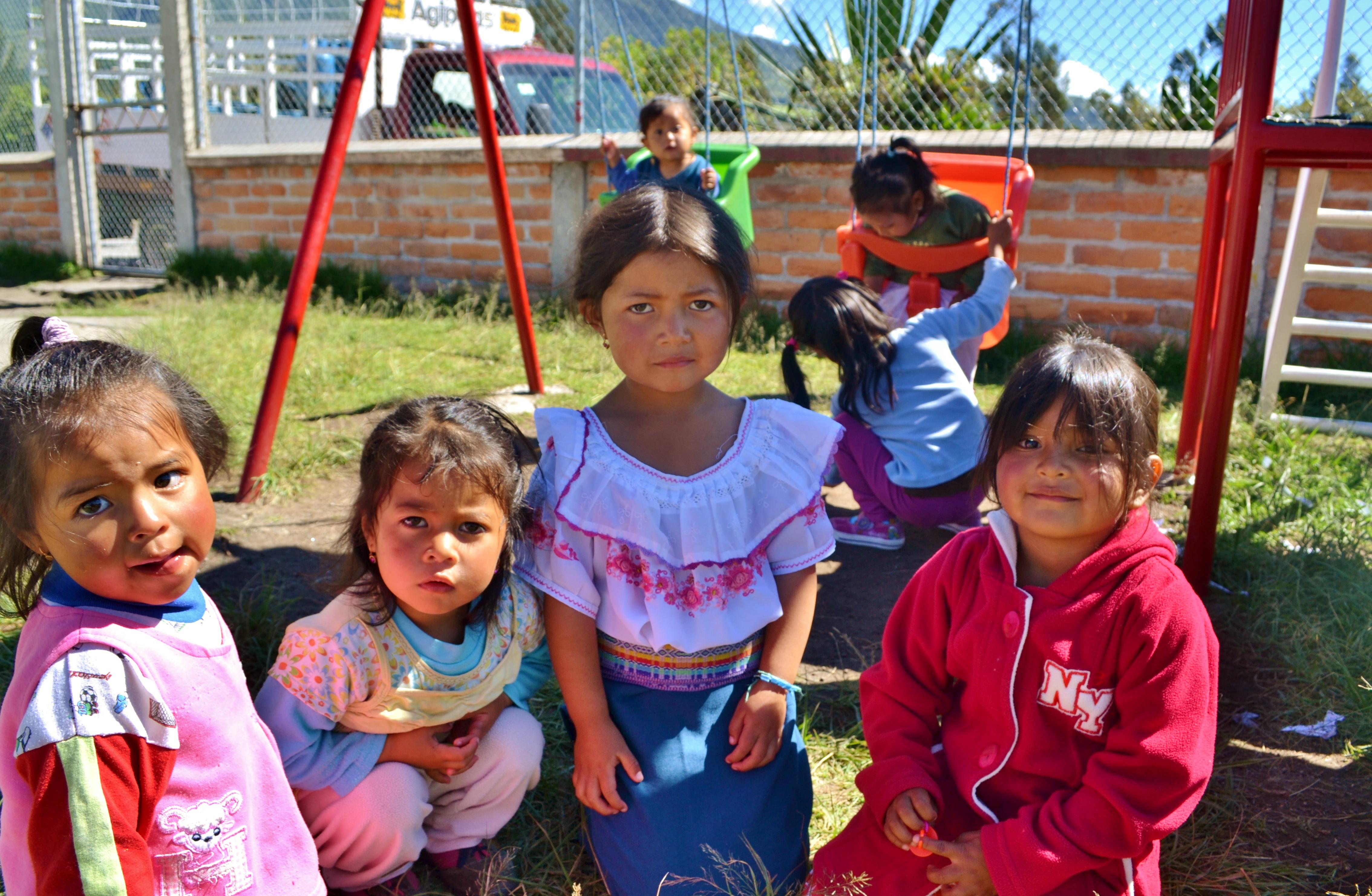 The Andes kids kichwa