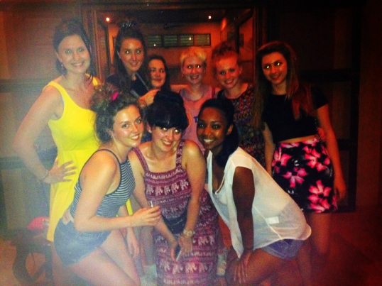 first night out in Siem Reap