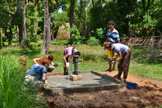 Siem Reap Water pumping well project
